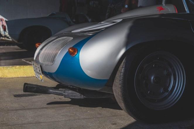 Carrera Sebring exhaust on a Porsche 718 Spyder