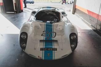 White 1967 Porsche 910