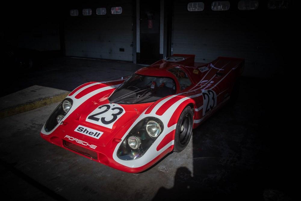 Red and white Porsche 917K