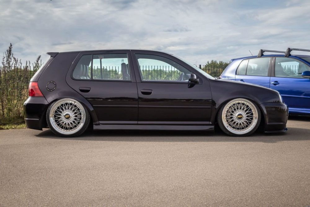 Mark 3 Golf, lowered, on BBS rims