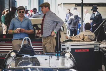 Garage talk, Goodwood Revival.