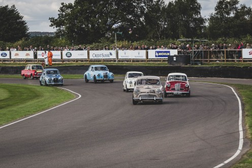 Austin, Wolseley, MG and Ford - take your pick, Goodwood Revival.