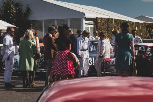 Parc ferme, Goodwood Revival.