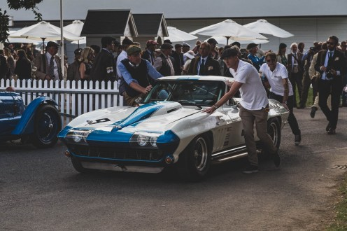 1965 Corvette Stingray, Goodwood Revival.