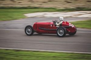 Red 1950's Maserati