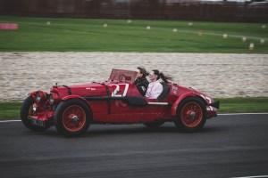 Red Aston Martin