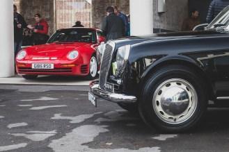 Lancia and Porsche 959