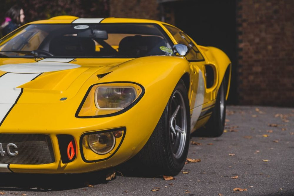 Yellow Ford GT40