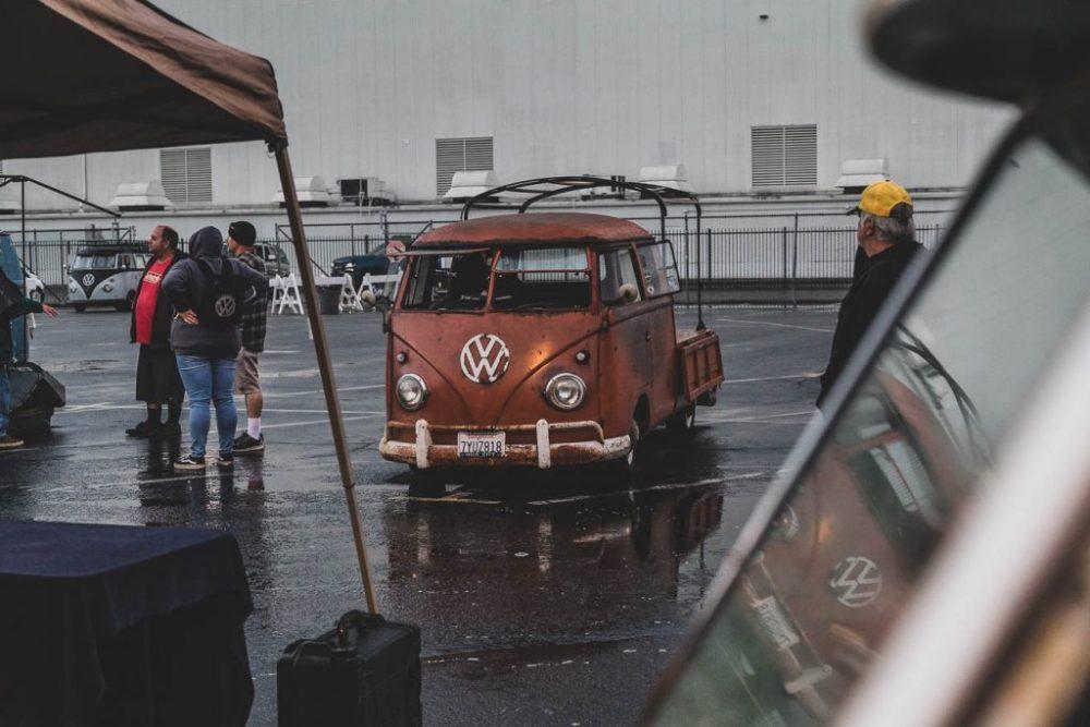 Volkswagen double cab pick-up