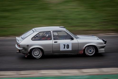 Silver 1976 Vauxhall Chevette