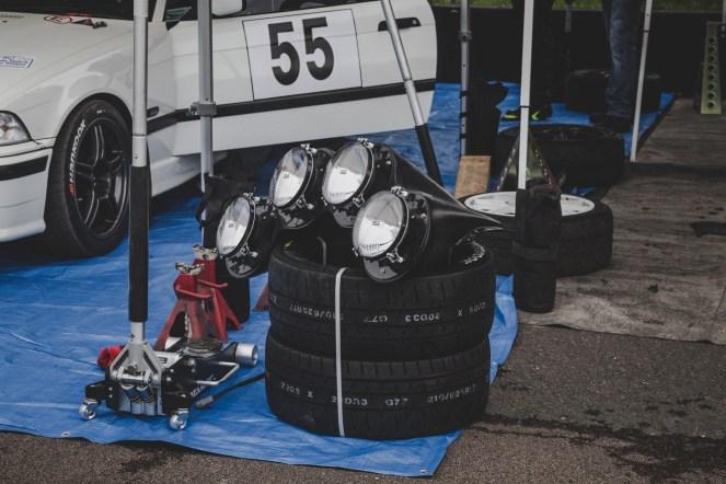 Spare rally lights