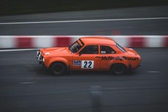 Orange 1970 Mk1 Ford Escort
