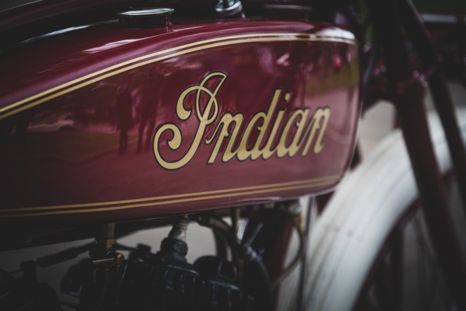 Indian motorcycle fuel tank