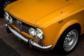 Mustard Alfa Romeo Giulia Super