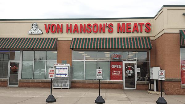 Champlin, MN Von Hanson's Meats