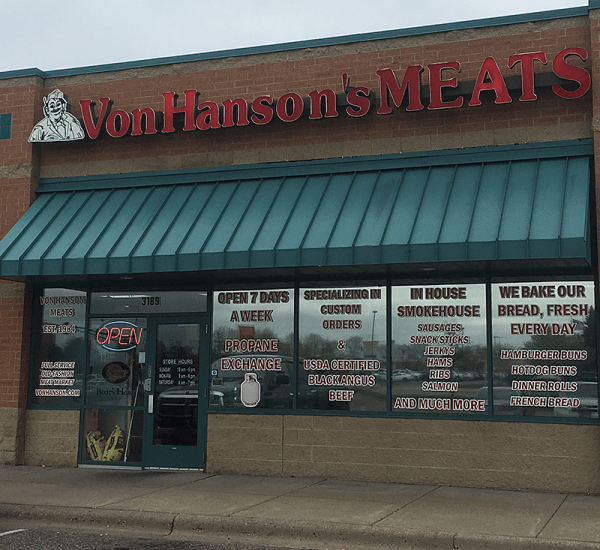 Coon Rapids, MN Von Hanson's Meats
