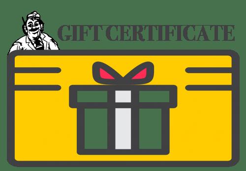 gift certificate von hanson s meats