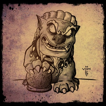 Foo Dog by vonholdt