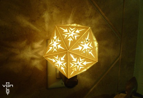 paper nightlight shade