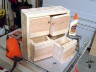 little wooden drawers