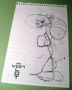 Pabu sketch