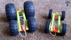 technic rubberband cars