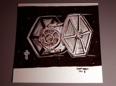 chibi tie fighter