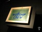 worship crew - exposing screen