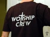 worship crew shirt