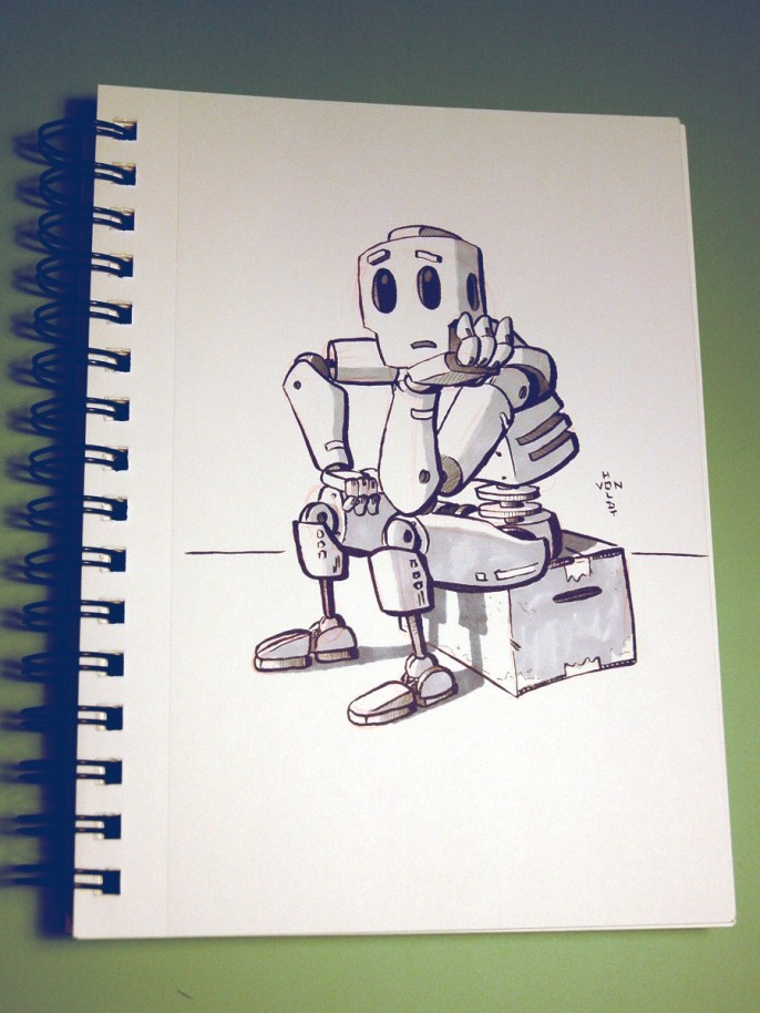 Airplane Robot