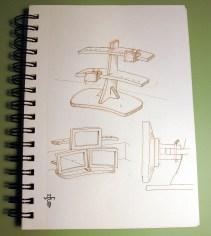 Monitor Array Sketch