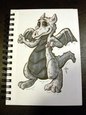 dragon (inktober)