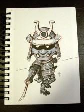 lil samurai (inktober)