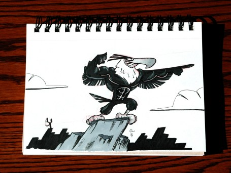 mighty eagle (inktober)