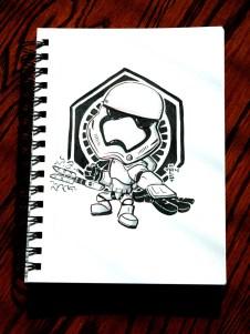 stormtrooper inktober
