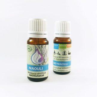 Organický NIAOULI esenciálny olej Voniava