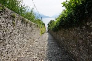 Weg zu Seeufer
