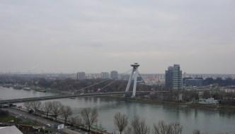 Ein UFO über Bratislava