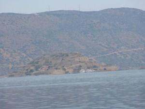 Blick vom Festland nach Spinalonga
