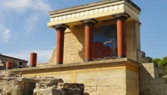Knossos – Überreste eines Palastes