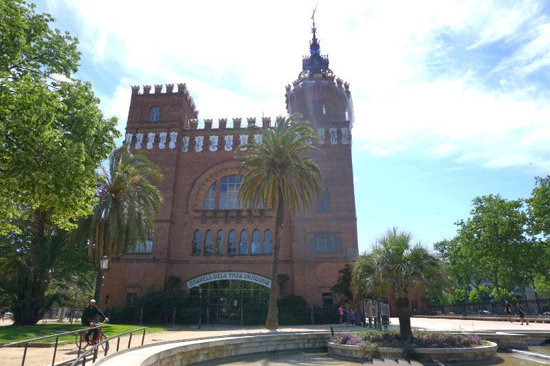 Parc de la Ciutadella das Castell dels Tres Dragons
