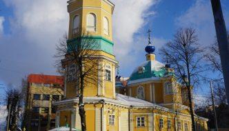 Die gelbe Kirche von Riga
