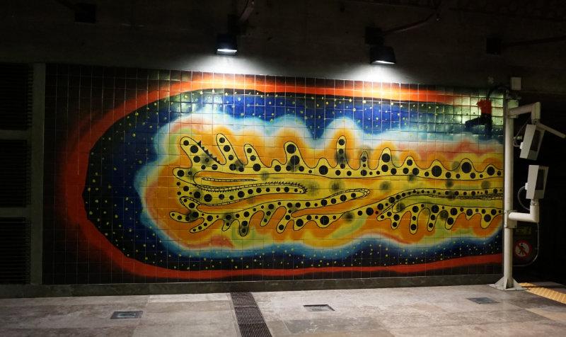 Kunst in der Metro Expo 1998