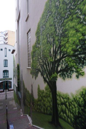 Streetart in Bremen - Baum