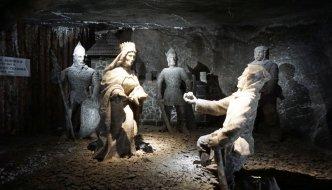 3 Stunden unter Tage auf der Touristenroute in der Salzmine Wieliczka