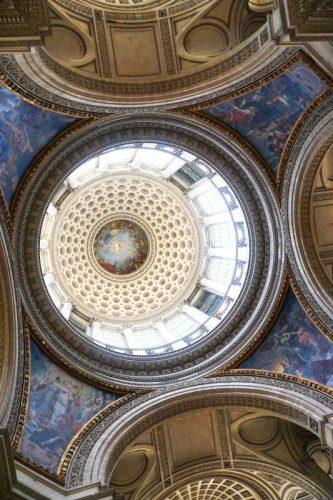 Panthéon Paris - Blick in die Kuppel