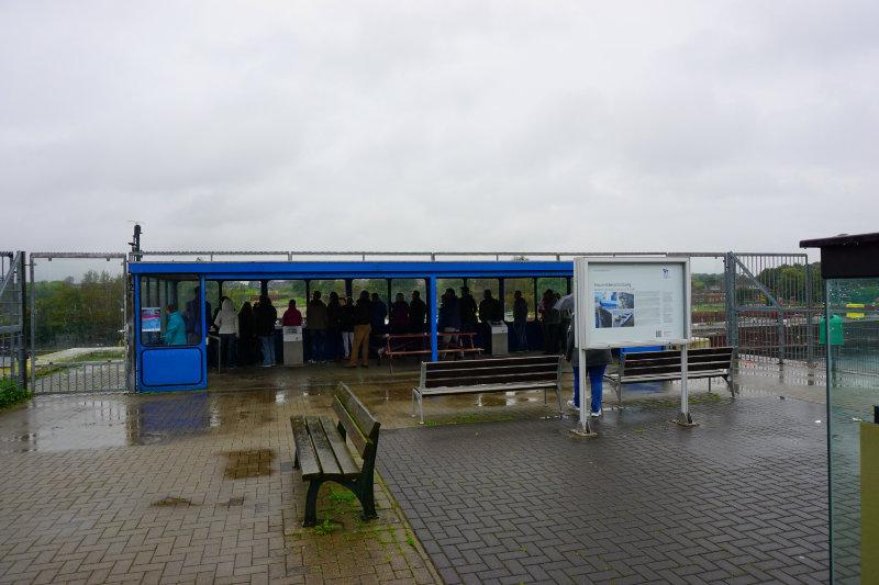 Schleusenanlage Kiel-Holtenau Aussichtsplattform