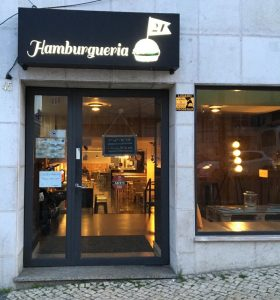 Food in Lissabon Hamburgueria