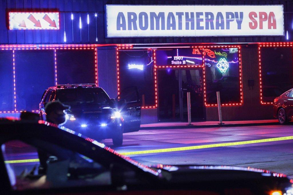 Aromatherapy Spa, lugar donde ocurrieron los tiroteos Atlanta.