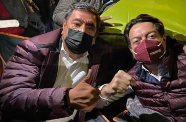 Félix Salgado Macedonio y Mario Delgado